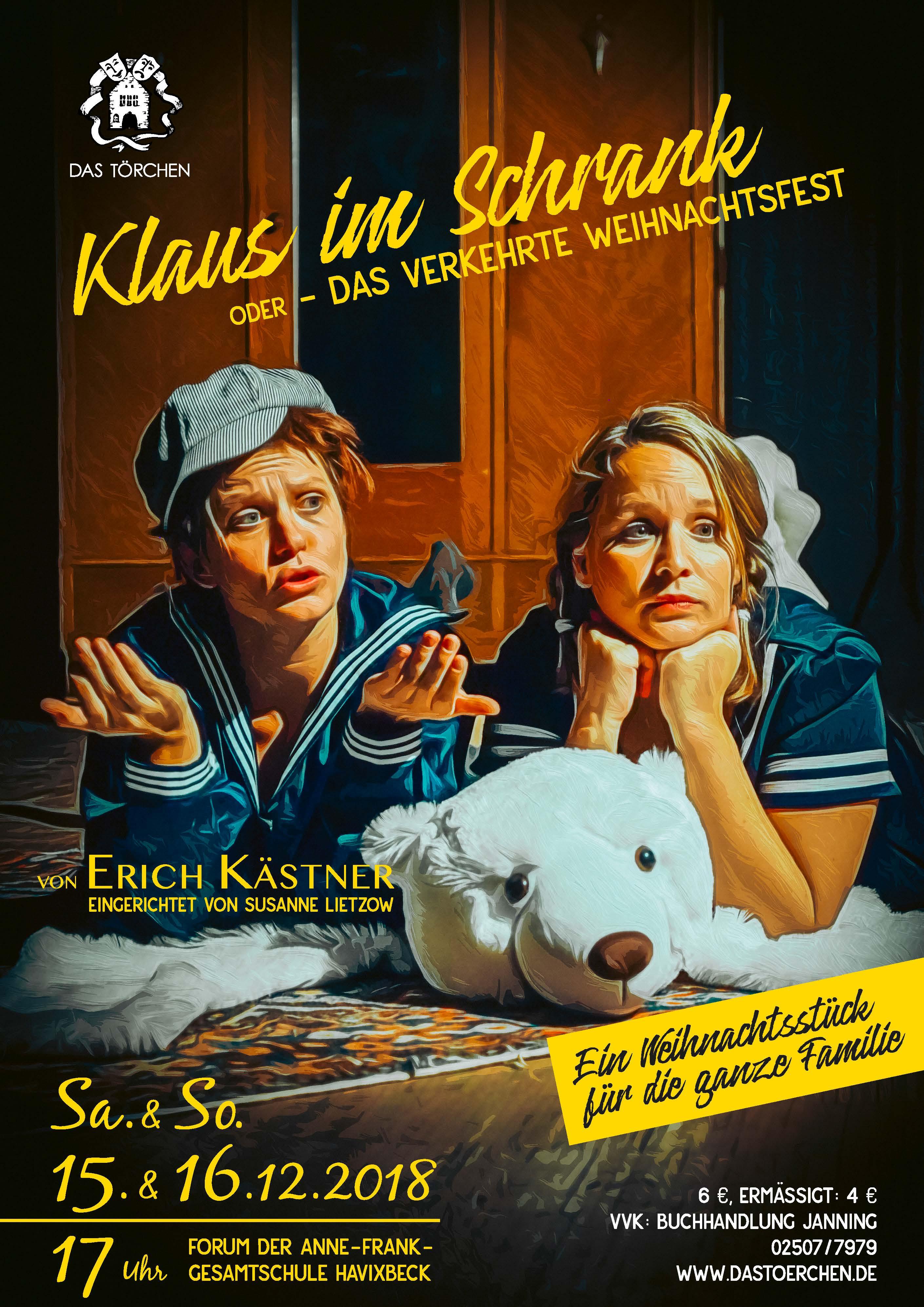 Klaus im Schrank